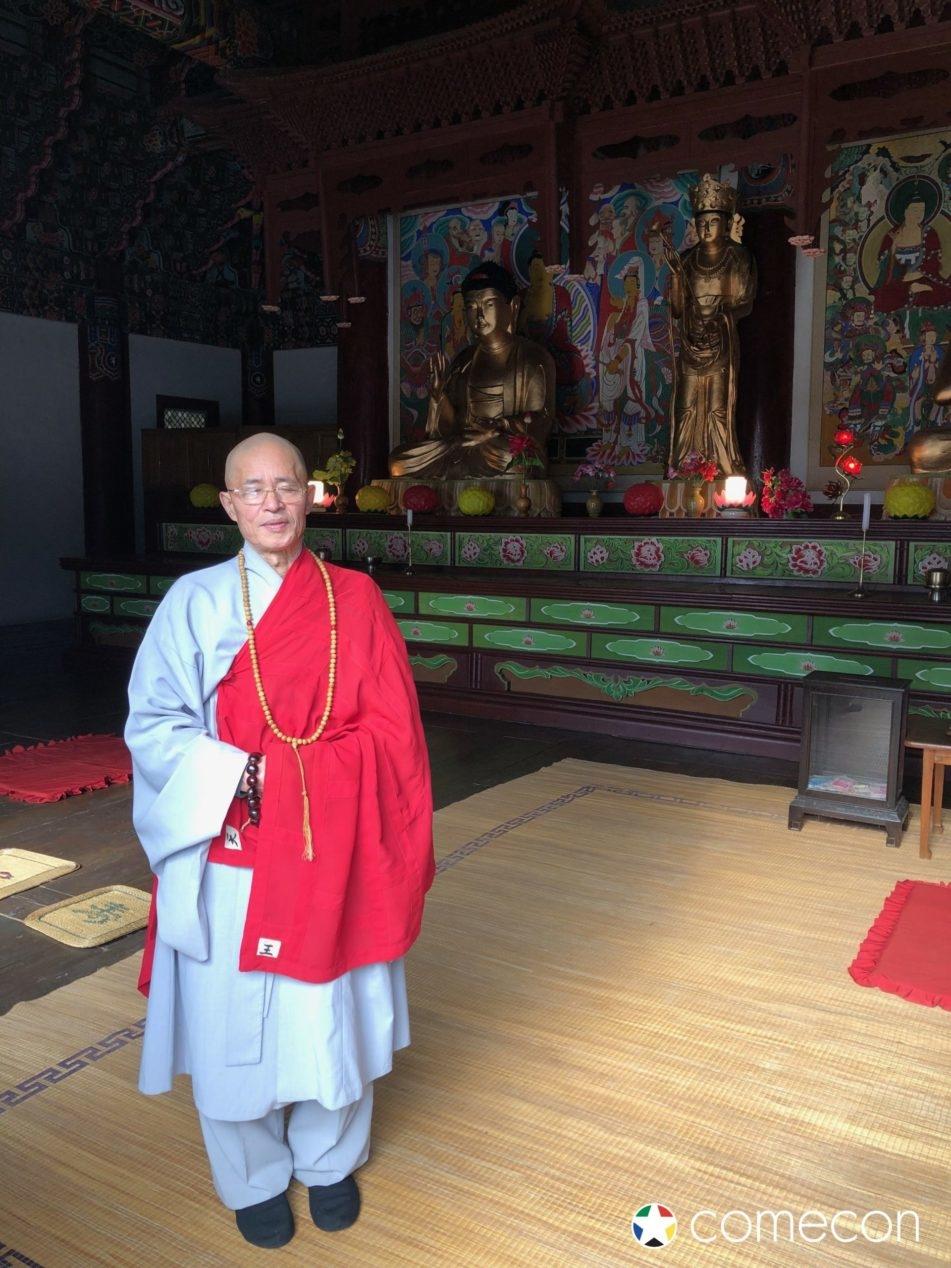 Monaco buddista in Corea del nord
