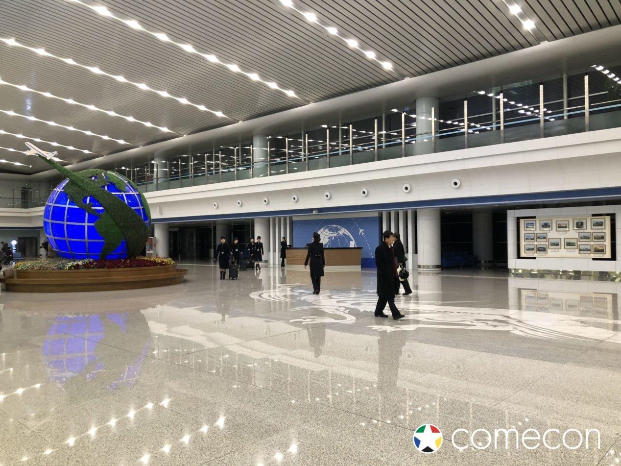 Aeroporto Nord Corea