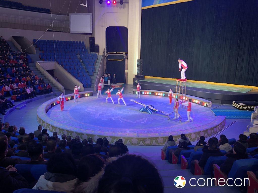 Circo Nord Corea