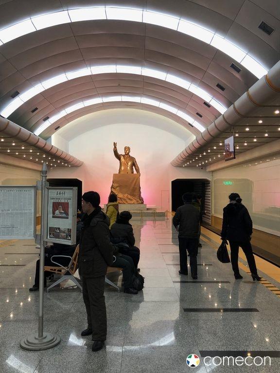 Foto Metropolitana Corea del Nord