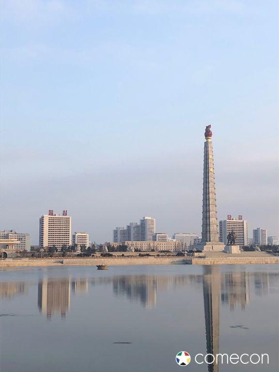 Panorama Corea del Nord Torre