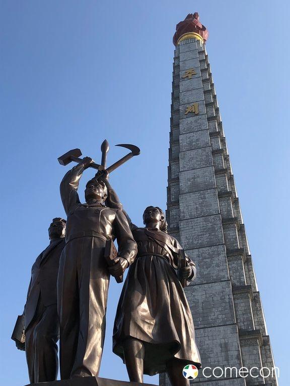 Torre Juche Corea del Nord
