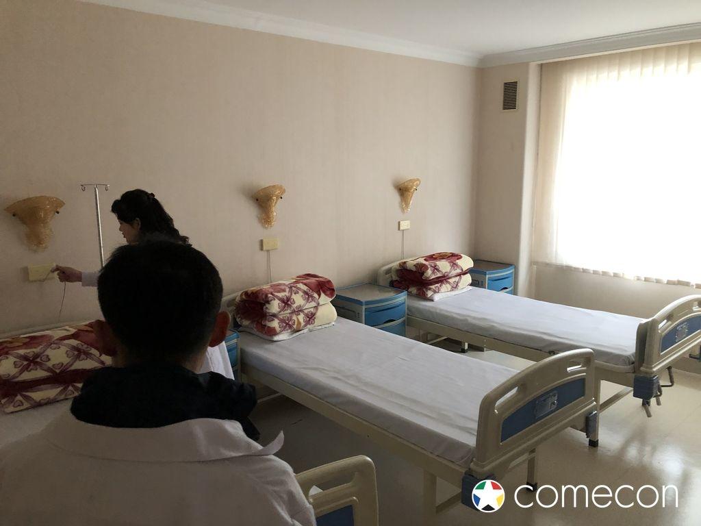 Camera ospedale Nord Corea